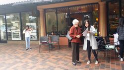 May 17 Street Busking at Bon Air Shopping Center in Marin, CA
