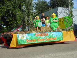 Oneida Sweet Corn Festival Float