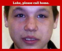 Missing Person of the Week (5) Luke Degerness Prince George BC JUne 7th 2007 AMPFTM