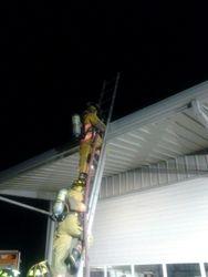 Hose Operations on Ladder