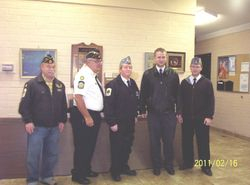 7 Meritorious Service Medals