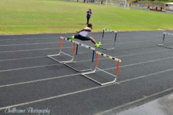Bray doing work in 100 hurdles