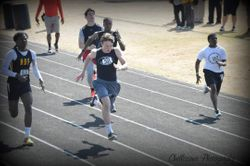 Jake putting it down in the 100