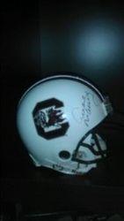 Autographed Archie Manning USC  Helmet
