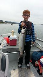 Cody's 1st fish