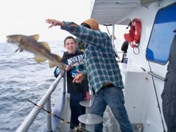 December's Deep Sea Fishing Trip out of Plymouth