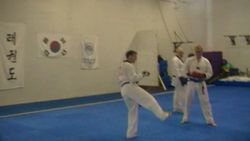 red river tae kwon do demo