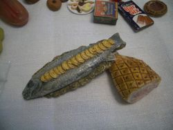 Ham and fish