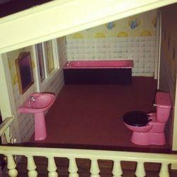 Broken-down bathroom