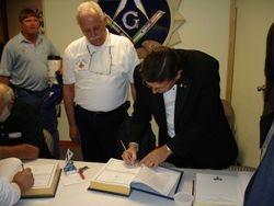 Bible signing