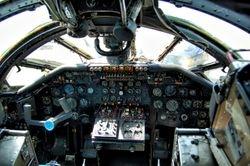 Handley Page Victor Cockpit
