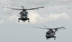 Royal Navy Merlins