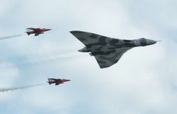 Avro Vulcan and Gnats Display Team