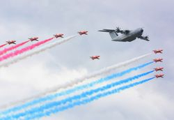 Red Arrows and A-400M