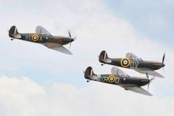 Spitfire trio.