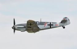 Messerschmitt Bf-109, Red 7