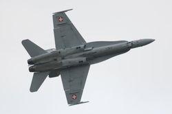 Swiss F-18 Hornet