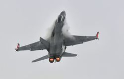 Finnish F-18 Hornet
