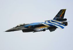 Hellenic Air Force Team Zeus, F-16