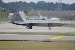 F-22 Raptor from Tyndall Air Force Base