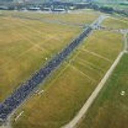 Police aerial shot of Hullingavington 2010