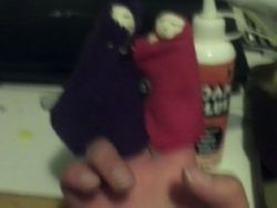 Finger Puppets Zoomed Out