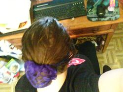 Adult Size Bun Scrunchie