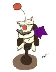 Reading is cool, kupo!