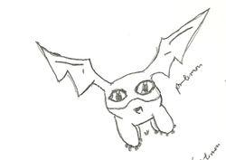 Notebook Doodles: Patamon
