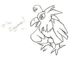 Notebook Doodles: Biyomon