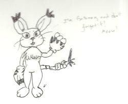 Notebook Doodles: Gatomon
