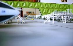 Olivier Cabourdin's Hanger build.