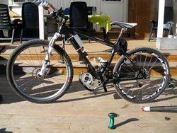 48V450W brushless mid-bike kit