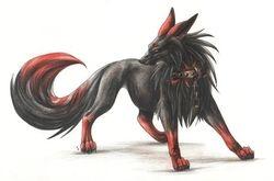 evil wolf hehe