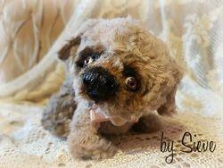 Rozi the puli puppy //  $210.00 USD   Postage: Worldwide   $15.00 USD