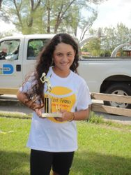 My Trophy and I :)