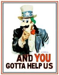Gay Luigi wants YOU!