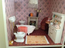 Different loo and wash stand added.