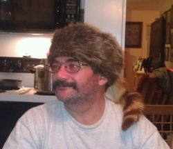 Bill and his racoon hat
