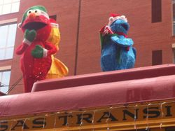 Decorated Streetcars