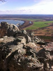 View from outlook at Petit Jean State Park