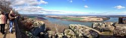 Panoramic View of valley at Petit Jean State Park