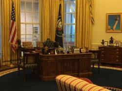 Clinton Library - Oval Office