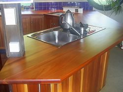 Oiling / Waxing, Pallman Magic Oil, Benchtops, Shaws Floorsanding, Wanganui 06 3480469