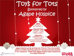 Agape Hospice of the Midlands Toys for Tots Charity Drive