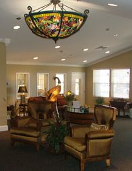 Rock Hill Assisted Living Lobby