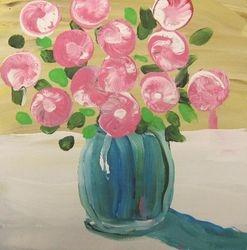 Agape SeniorLexington Resident Hattie Haulbrook Painting