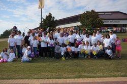 2013 Walk to End Alzheimer's Winthrop Coliseum Rock-Hill