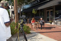 WLTX Interview at Michael's Cafe & Catering