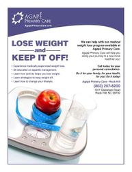 Agape Primary Care Rock Hill; Lose Weight and Keep it Off